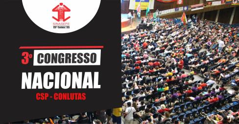 3º Congresso da CSP-Conlutas aprova paridade de gênero: veja resumo do evento