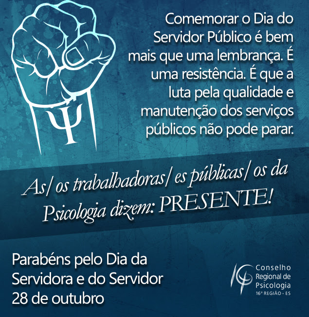 Confira a homenagem do CRP-16 ao Dia da Servidora e do Servidor Público (28)