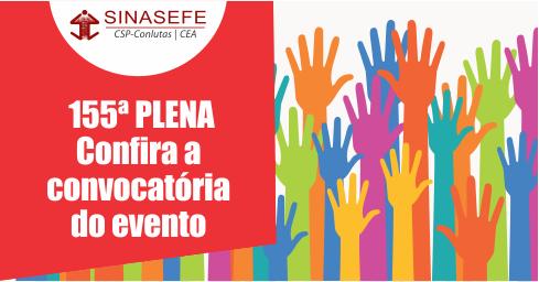 155ª PLENA será realizada em 4 e 5 de agosto em Curitiba-PR
