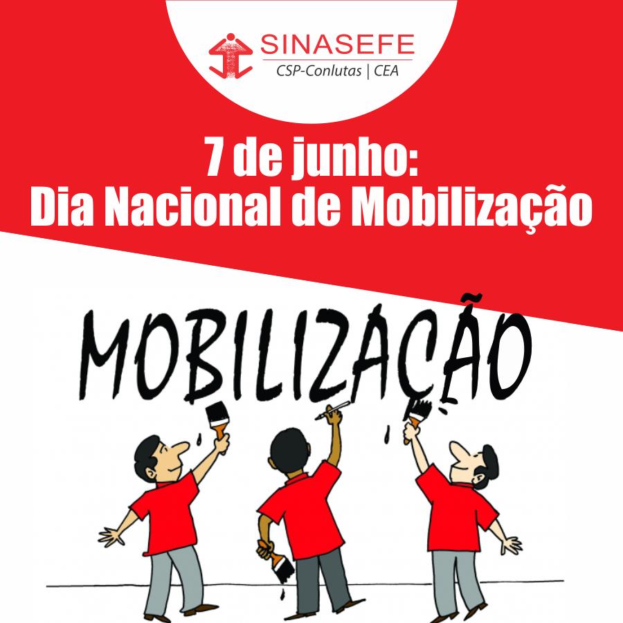 Categoria aprova participação no 7 de junho – Dia Nacional de Mobilização contra os ataques do governo