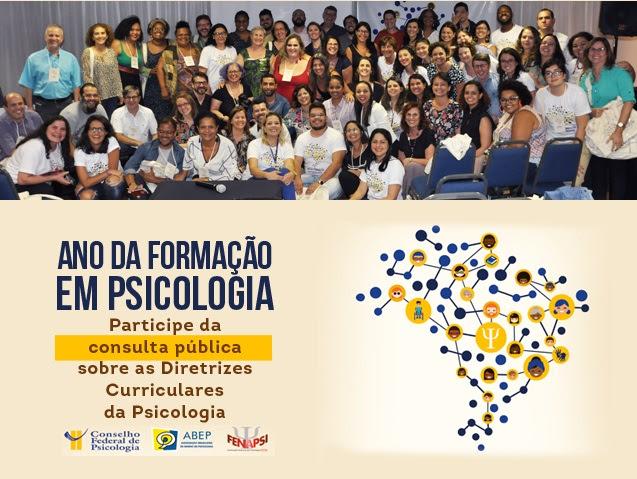 Ano da Formação em Psicologia: participe da consulta pública das DCNs