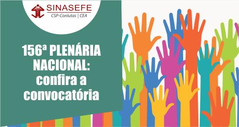 156ª PLENA será realizada de 9 a 11/11, no San Marco Hotel, em Brasília-DF