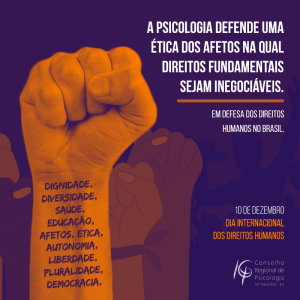 O que pode a Psicologia na defesa dos Direitos Humanos?
