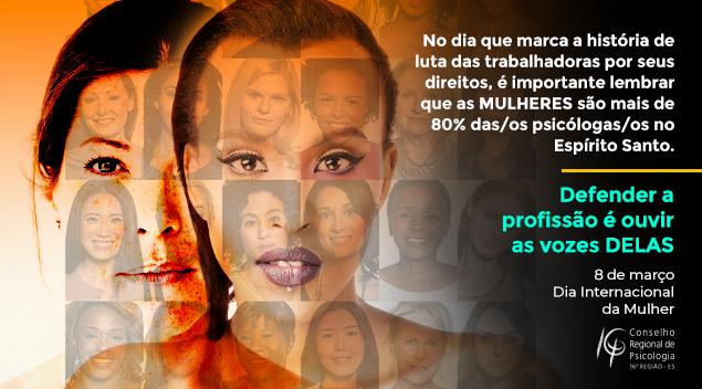 Março é o Mês das Mulheres: ouçamos as vozes DELAS