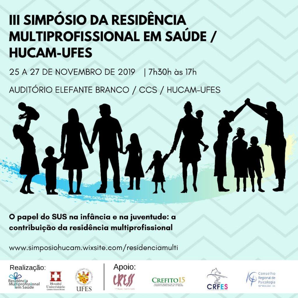CRP-16 participa de III Simpósio da Residência Multiprofissional em Saúde da Criança e do Adolescente